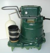 submersible cast-iron sump pump in Bonnyville, Alberta