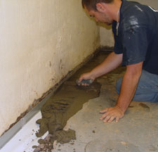 Sump Pump Drain and Discharge Line Installation Installed in Cold Lake