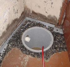 Sump Pump Installation in a Wainwright basement